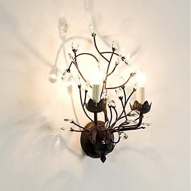 Retro / Vintage Traditionell-Klassisch Wandlampen Für Glas Wandleuchte 220v 40W