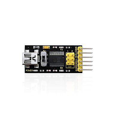keyestudio ftdi (oryginalne żetony) podstawowy program downloader USB do ttl ft232usb kabel do arduino