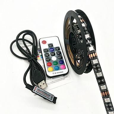 ZDM® Zestawy oświetlenia 60 Diody LED RGB Pilot zdalnego sterowania Wodoodporne <5V