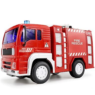 Spielzeug-Autos LED - Beleuchtung Urlaubsrequisiten Musikspielzeug Fahrzeug Spielzeug-Sets Spielzeuge Bildungsspielsachen Feuerwehrauto
