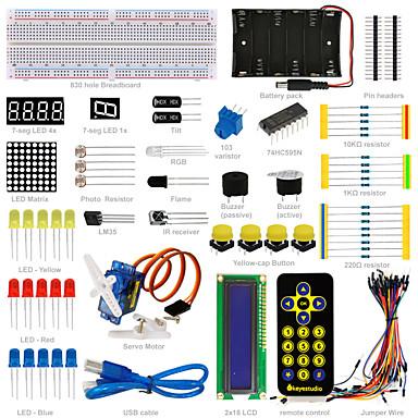 keyestudio basic starter learning kit do arduino (bez tablicy uno) pdf