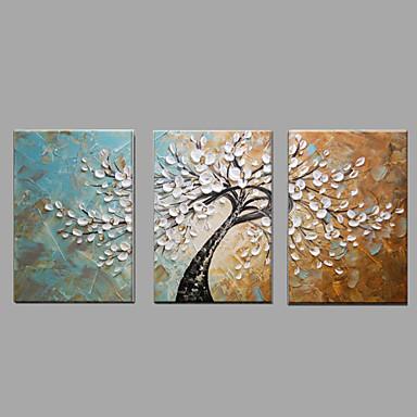 Hang-malované olejomalba Ručně malované - Krajina Klasické / Moderní Plátno