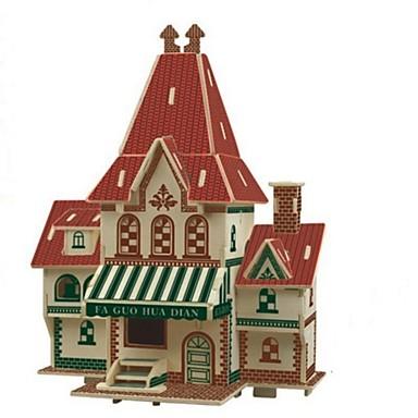 Zabawki 3D Puzzle Drewniane modele Model Bina Kitleri Domy Moda Dom Klasyczny Moda New Design Dzieci Gorąca wyprzedaż 1pcs Modern /