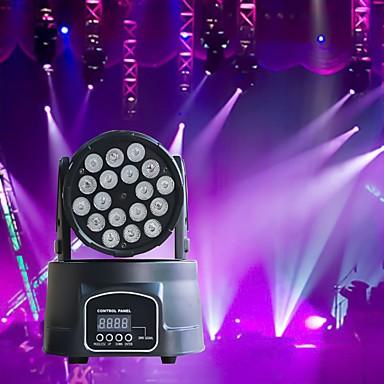 U'King Oświetlenie LED sceniczne / Żarówki LED Par DMX 512 / Master-Slave / Aktywowana Dźwiękiem 180 W na Impreza / Scena / Ślub Profesjonalny / a