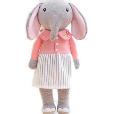 Plüschtiere Kuscheltiere & Plüschtiere Spielzeuge Elefant Tier Tiere Niedlich Kinder Stücke