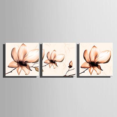 Absztrakt Három elem Vászon Vízszintes panoráma Nyomtatás fali dekoráció lakberendezési