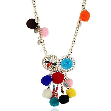 Damskie Naszyjniki z wisiorkami - Modny Geometric Shape Rainbow Różowy Light Blue Naszyjniki Na Prezent Codzienny
