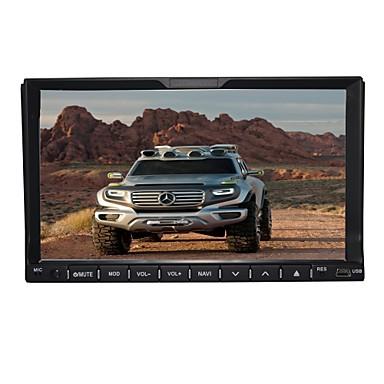 7-calowy, 2-calowy ekran w desce rozdzielczej samochodowy odtwarzacz dvd z funkcją nawigacji bluetooth-read / gps / usb ipod /