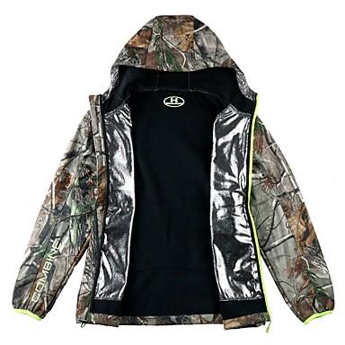 100% authentic e4841 e3c77 Giacca impermeabile da caccia Per uomo Antivento / Anti-pioggia Camouflage  Giacca di pelle Manica lunga per