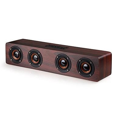 W8 Bluetooth Lautsprecher Bluetooth 4.0 3.5 mm AUX Lautsprecher für Regale Beige Purpur