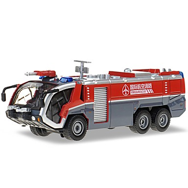 Wóz strażacki Pojazdy budowlane i ciężarówki do zabawy Samochodziki do zabawy zestawy do zabawy zawierające pojazdów Zabawki ruchowe