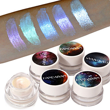 1 szt. Brokatowy podświetlacz cieni do powiek puder do makijażu wysokiej jasności cień do powiek kosmetyki do makijażu