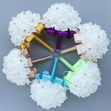 Kwiaty ślubne Bukiety / Wyjątkowa dekoracja ślubna Specjalne okazje Piana 8,66