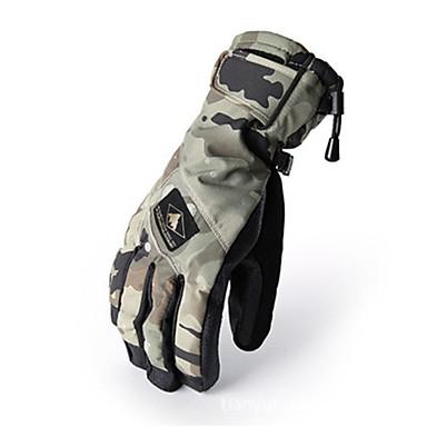 Rękawice narciarskie Dla obu płci Full Finger Keep Warm Wodoodporny Wiatroodporna Narciarstwo Piesze wycieczki Rower Zima