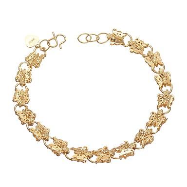 Damskie , Bransoletki i łańcuszki na rękę - Bowknot Shape Gold