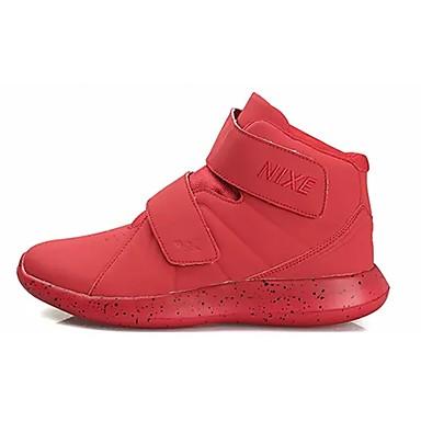 Herren Schuhe Gummi Herbst Komfort Sneakers Für Schwarz Rot Blau