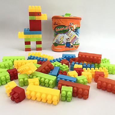 hesapli Oyuncaklar ve Oyunlar-Legolar 34 pcs Aile / Hayvan Hayvanlar / El Çantaları / Karikatür Oyuncak Sırt Çantası Genç Erkek Hediye
