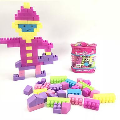 hesapli Oyuncaklar ve Oyunlar-Legolar 34 pcs İnsan / Aile El Çantaları / Karikatür Oyuncak / Karton Dizayn Sırt Çantası Genç Erkek Hediye