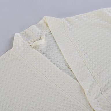 Świeży styl Bath Robe, Jendolity kolor Najwyższa jakość 100% bawełna Tkana Plain Ręcznik