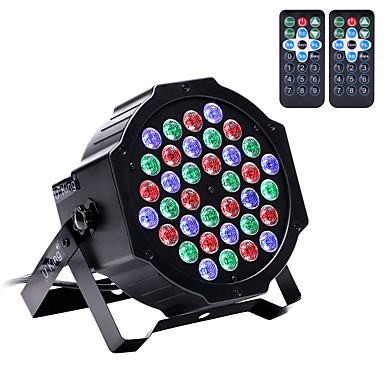 U'King Oświetlenie LED sceniczne Żarówki LED Par DMX 512 Master-Slave Aktywowana Dźwiękiem Auto 36 na Klub Ślub Scena Impreza