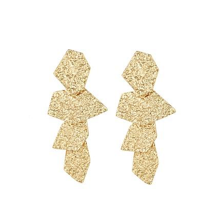 Damen Geometrisch Tropfen-Ohrringe - Grundlegend, Erklärung Gold / Silber Für Party / Bühne