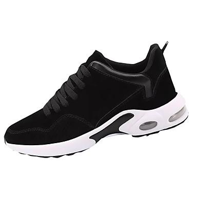 Męskie Buty PU Zima Comfort Buty do lekkiej atletyki Bieganie Black / Gray / Black / White
