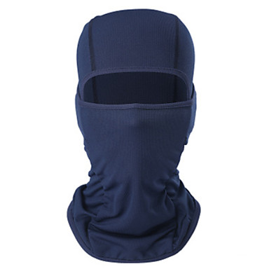 Balaclava Solid Color Sunscreen Moisture Wicking Breathability Soft Bike / Cycling Blue Grey Royal Blue for Men's Women's Adults' Mountain Bike / MTB Camping / Hiking Ski / Snowboard Hiking Cycling