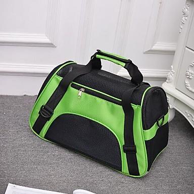Kot / Psy plecak Zwierzęta domowe Torby Przenośny / Oddychający / Składany Solidne kolory Fioletowy / Zielony / Niebieski