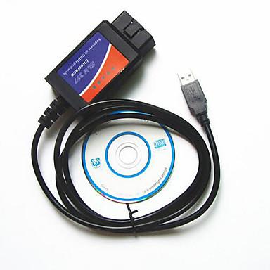 linjer af auto fejldiagnose instrument ELM327 OBD2 kørsel computer usb-kabel