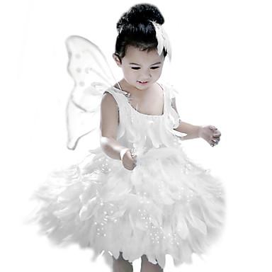 Elf Ruhák Gyermek Mindszentek napja Farsang Gyermeknap Fesztivál / ünnepek ruhák Fehér Divat