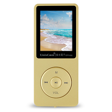 UnisCom MP3/MP4 MP3 WMA WAV FLAC APE OGG AAC Ladattava Li-ion akku