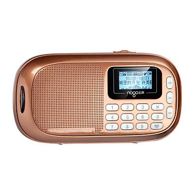 NOGO Q16 Styl MIni Głośniki Radio FM Wielofunkcyjne Lekki i wygodny Młodzieżowy Nie Micro USB 3,5 mm AUX gniazdo kart TF Głośnik półkowy