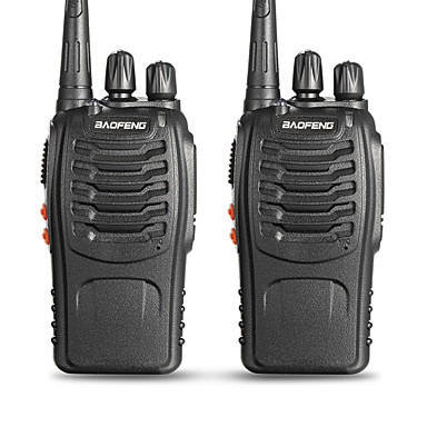 povoljno Walkie talkyji-BAOFENG 2 Pcs BF-888S Ručna Status Baterije / Može se programirati (PC softver) / Glasovna naredba 3km-5km 3km-5km 5 W Walkie Talkie Radio dva puta / 400-470MHz / VOX / Tajmer / Zauzeti kanal