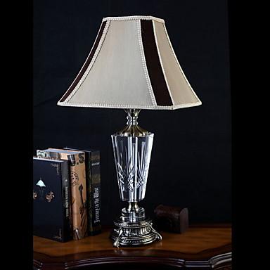 Artystyczny Ochrona oczu Lampa stołowa Na Kryształ 220V Dark Yellow