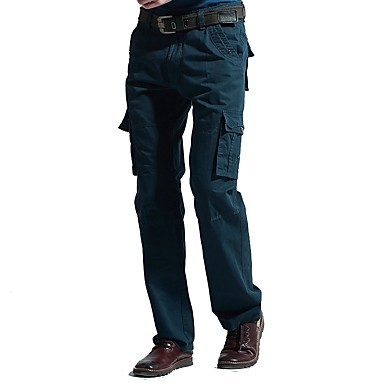 Męskie Spodnie cargo Na wolnym powietrzu Zdatny do noszenia, Fitness, Cross Country Spadać / Zima Spodnie Outdoor Exercise / Multisport