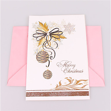 Fold Side Zaproszenia ślubne 1-Zaproszenia Fairytale Theme Motyw świąteczny Embossed Paper Błyszczący Blask