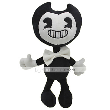 30cm Ghost Bendy and The Ink Machine Classic Theme Stuffed Animal Plush Toy Cute For Children Animals Silicone Girls' Toy Gift 1 pcs