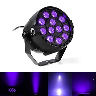 U'King Oświetlenie LED sceniczne DMX 512 / Master-Slave / Aktywowana Dźwiękiem 12 W na Obuwie turystyczne / Impreza / Klub Profesjonalny / a