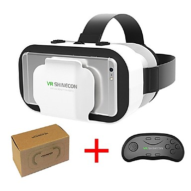 a2f4a05f76c VR SHINECON 5.0 Glasses Virtual Reality 3D Glasses for 4.7 - 6.0 Inch Phone  with Controller