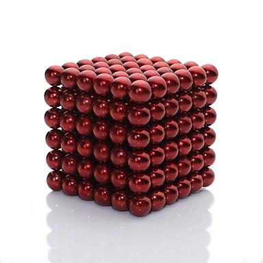 216 pcs Zabawki magnetyczne Blok magnetyczny Kulki magnetyczne Magnesy ziem rzadkich Artystyczny Lśniący Dla chłopców Dla dziewczynek Zabawki Prezent