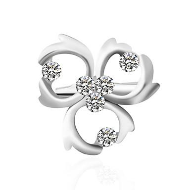 voordelige Feestaccessoires-Dames Broches Standaard Broche Sieraden Zilver Voor Bruiloft Feest