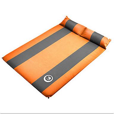 Shamocamel® Felfújható matrac Laticel Önfelfújós matrac Külső Párásodás gátló Hordozható Összecsukható Felfújható Vastag Pihenő Rugalmas