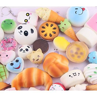 LT.Squishies צעצוע מעיכה / מקל מתחים מזון ומשקאות / אוכל / לחם הקלה על ADD, ADHD, חרדה, אוטיזם / Office צעצועים במשרד / הפגת מתחים וחרדה
