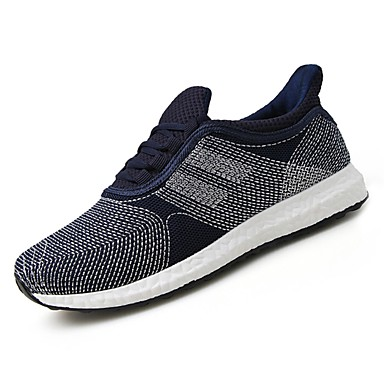 נעליים טול אביב סתיו נוחות נעלי אתלטיקה ל אתלטי שחור כחול כהה אפור