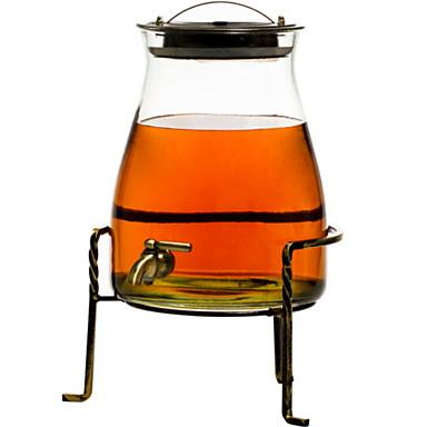 זכוכית קל לשימוש איכות גבוהה בקבוקים וקערות 1pc ארגון המטבח