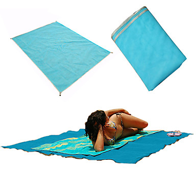 Fengtu Sleeping Pad Foldable Multifunction Polyester Camping / Hiking Beach Outdoor Spring/Fall Summer