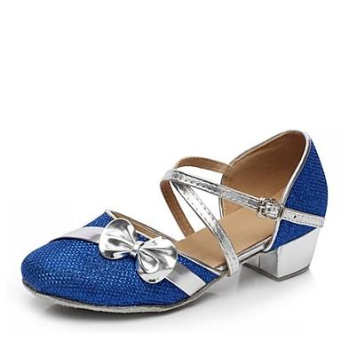 niños de Personalizables Elástico Satén Tacón Zapatos de Bajo danza Zapatos Sandalia Lentejuelas aEOnOqd
