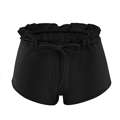 בגדי ריקוד נשים שרוך שורט לריצה - שחור, אפור כהה, כחול סקיי ספורט ספנדקס מכנסיים לבוש אקטיבי נשימה