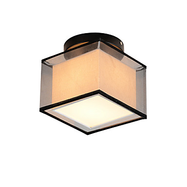 Praça moderna simples lâmpada do teto embutir luzes de entrada hall de entrada sala de jogos luminária de cozinha