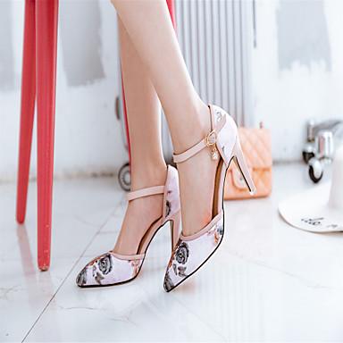 pointu Talons Talon Habillé Printemps Similicuir à Chaussures Chaussures Rose Noir Bleu Aiguille 06506164 Eté Bout Confort nwApvR1xqY